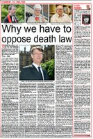Why we have to oppose the death law