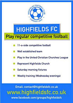 Highfields FC Info
