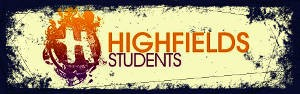 Highfields Students Side Banner