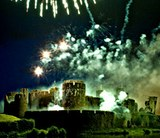Caerphilly Castle Fireworks
