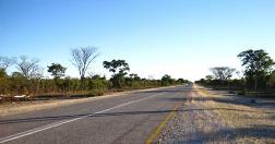 Road to Katima