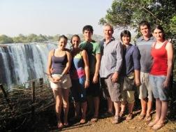 Jenkins Family at Victoria Falls
