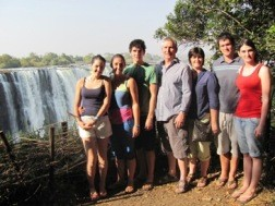 Jenkins Family at Victoria Falls