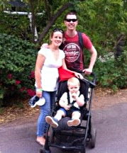 Evans family on a day out at Phoenix Zoo