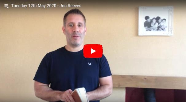 Daily Devotional Jon Reeves