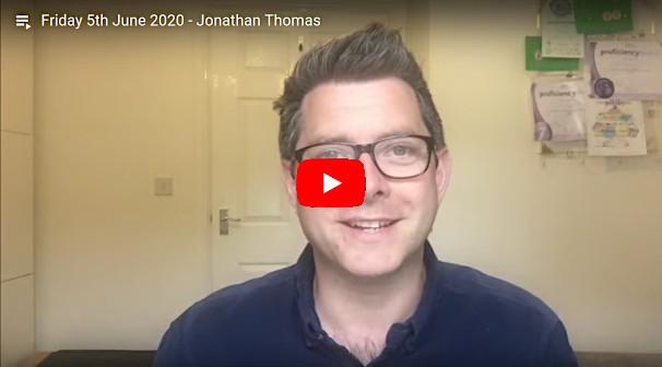 Daily Devotional Jonathan Thomas