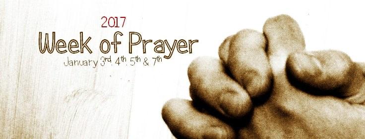 New Year Week of Prayer — Highfields Church - Cardiff