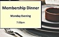 Membership Dinner